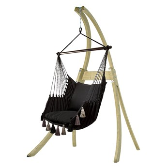 Zestaw hamakowy: fotel AHC-10 ze stojakiem drewnianym Atlas, AHC-10-AT