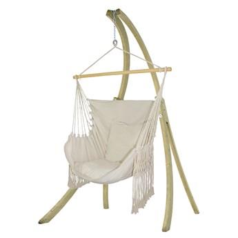 Zestaw hamakowy: fotel HCXL-C ze stojakiem drewnianym Atlas, HCXL-C-AT