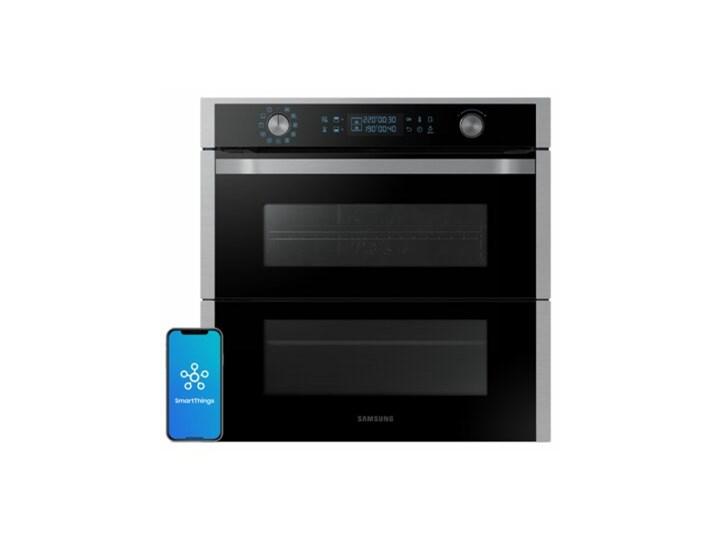 Piekarnik SAMSUNG NV75N7647RS Dual Cook Flex Elektryczny Czarno-srebrny A+ Elektryczne Kolor Czarny Kategoria Piekarniki