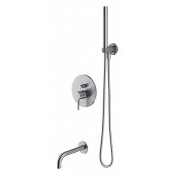 Zestaw wannowo-prysznicowy Y podtynkowy nikiel SYSYW01NI