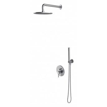 Zestaw prysznicowy Y podtynkowy nikiel SYSY16NI