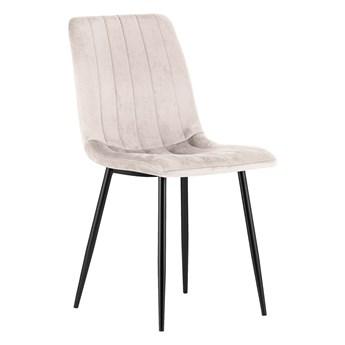 Krzesło do jadalni tapicerowane DC-1939 - Welur 05