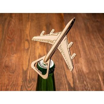 Otwieracz do butelek - samolot