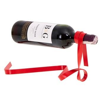 Stojak na wino WSTĄŻKA - CZEROWNA