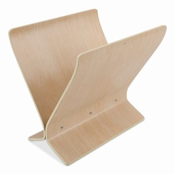 Umbra - Gazetnik Arling, drewno naturalne