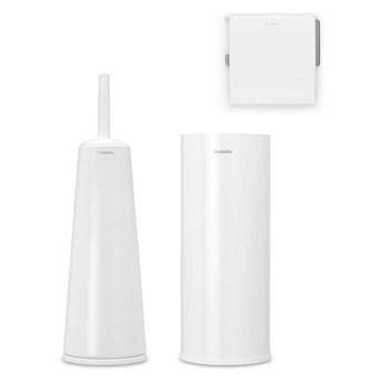 Brabantia - Zestaw łazienkowy ReNew Collection - biały