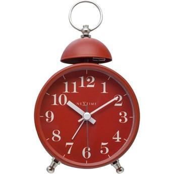 NeXtime - Zegar stojący Single Bell - czerwony