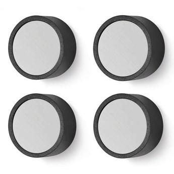 Zack - zestaw 4 magnesów MONOR ø 2 cm