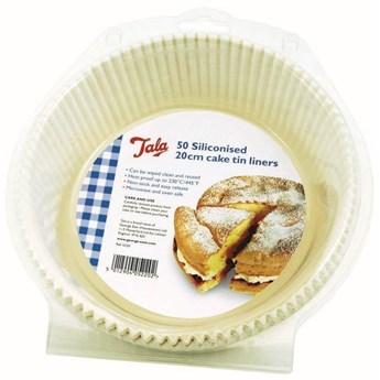 Tala - Formy papierowe do pieczenia silikonowane - 50 szt. okrągłe