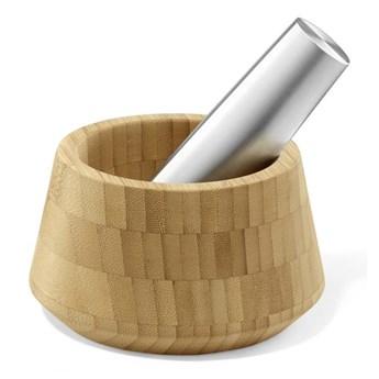 Zack - Moździerz bambusowy z tłuczkiem