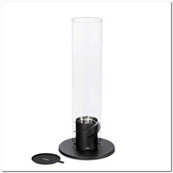 Hoefats - Kominek stołowy - Spin 120 - czarny