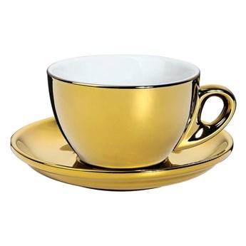 Cilio - Roma - filiżanka do cappuccino - 100 ml - złota