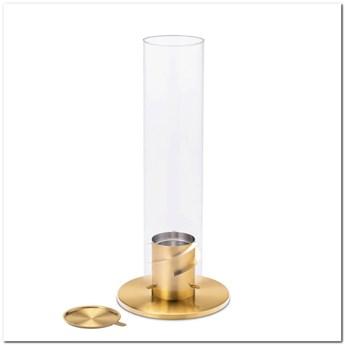 Hoefats - Kominek stołowy - Spin 120 - złoty