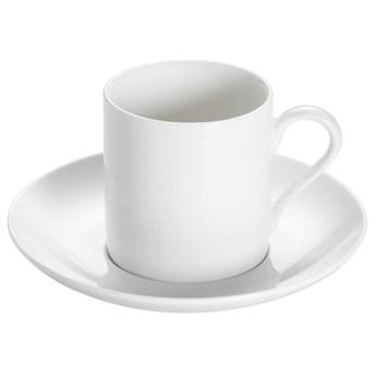 Maxwell & Williams - Basics Round - Filiżanka do espresso ze spodkiem, 100 ml