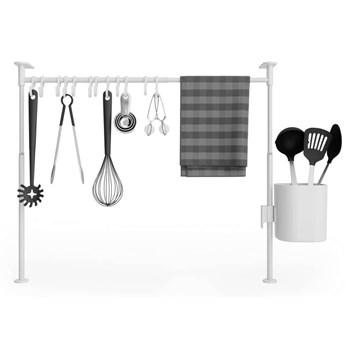Umbra - Organizer kuchenny - Anywhere - 12 haczyków i pojemnik