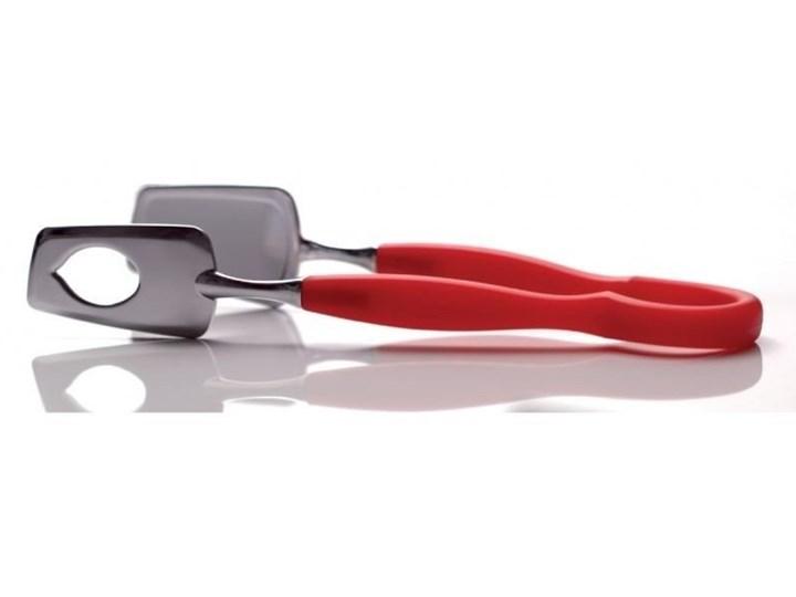 Casa Bugatti - Molla - szczypce do ciasta - czerwone Szczypce do sałat Kolor Czerwony