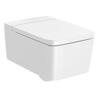 Roca Inspira Square miska WC wisząca Rimless Maxi Clean A34653700M