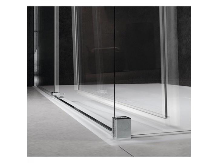 Novellini Rose Rosse kabina prysznicowa półokrągła 90 cm ROSER90-1K Wysokość 200 cm Narożna Rodzaj drzwi Rozsuwane