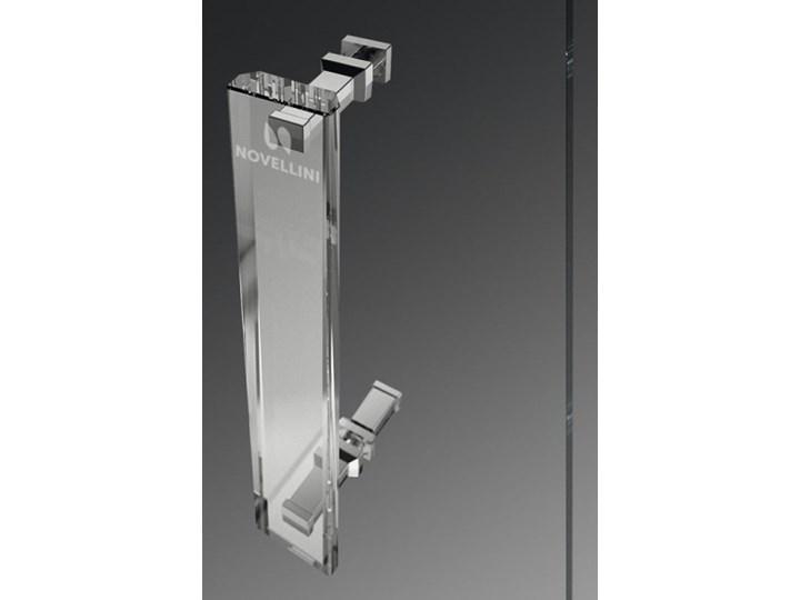 Novellini Rose Rosse kabina prysznicowa półokrągła 90 cm ROSER90-1K Narożna Wysokość 200 cm Rodzaj drzwi Rozsuwane Kategoria Kabiny prysznicowe