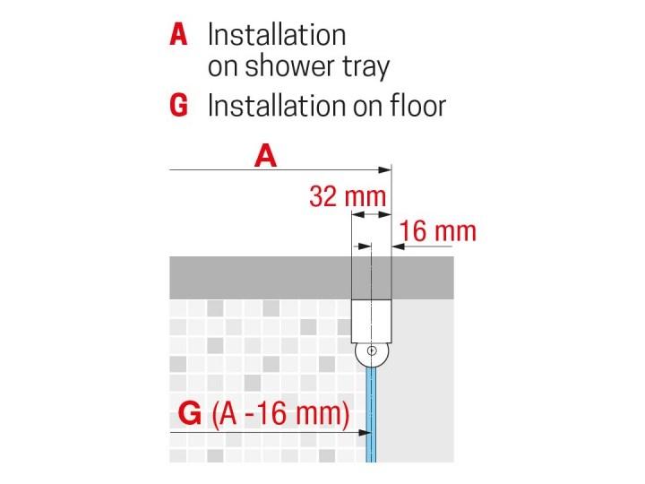 Novellini Young 2.0 G+F kabina prysznicowa kwadratowa 90 cm czarny mat Y2G871H+Y2FG871H Wysokość 200 cm Kolor Przezroczysty Kategoria Kabiny prysznicowe