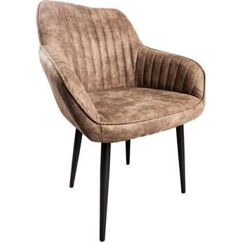 Krzesło Turin 60x84 cm brązowe