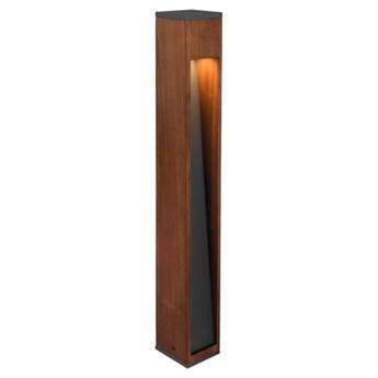 CANNING 409660130 Słupek ogrodowy 1x GU10 max. 5W TRIO drewno