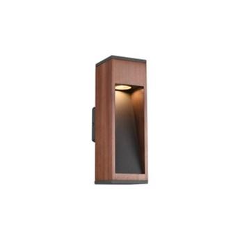 CANNING 209660130 KINKIET ogrodowy 1x GU10 max. 5W TRIO drewno