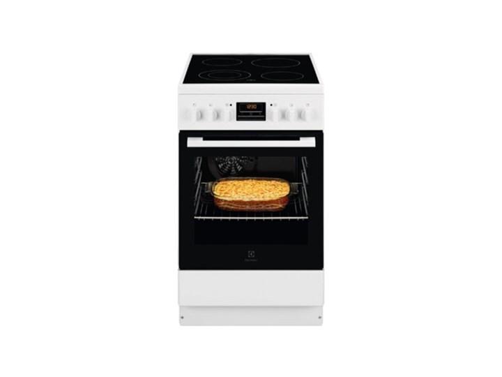 Kuchnia ELECTROLUX LKR540200W Szerokość 50 cm Rodzaj płyty grzewczej Ceramiczna