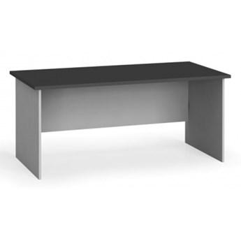 Stół biurowy prosty 180x80 cm, grafitowy