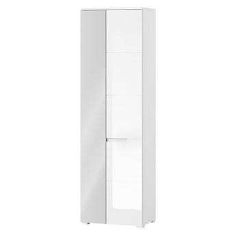 Szafa z lustrem SELENE SN18 60 biały połysk