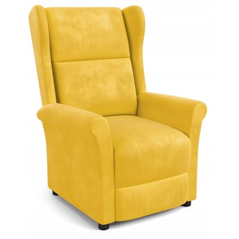 Fotel Rozkładany AGUSTIN 2 Żółty Halmar