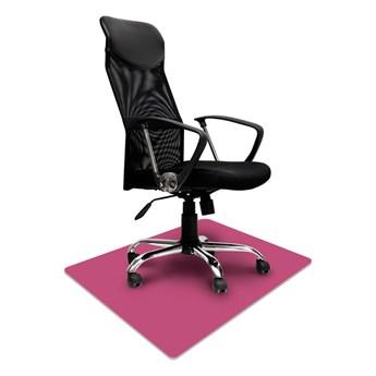 Elastyczna podkładka ochronna pod krzesło na kółkach 70x100cm gr. 2,2mm - FIOLETOWA