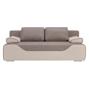 Sofa Gaja rozkładana brązowa