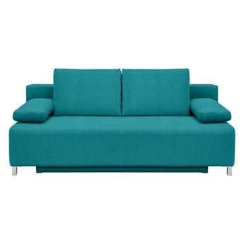 Sofa Kinga rozkładana turkusowa