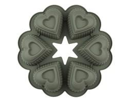 Forma do pieczenia serca silikonowa
