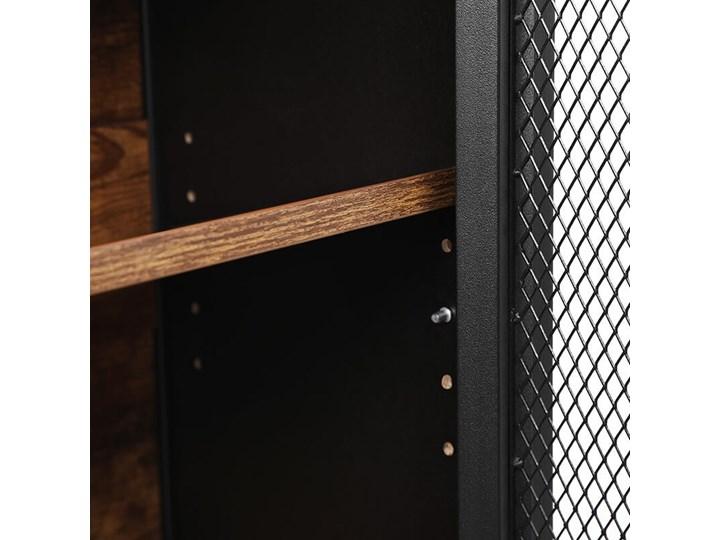 Bettso Pojemna komoda Rusty w stylu industrialnym / Rustic brown Szerokość 75 cm Wysokość 80 cm Szerokość 80 cm Kategoria Komody Kolor Brązowy