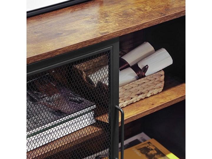 Bettso Pojemna komoda Rusty w stylu industrialnym / Rustic brown Szerokość 80 cm Wysokość 80 cm Szerokość 75 cm Kategoria Komody