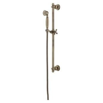 Art Deco zestaw prysznicowy suwany brąz antyczny ARTDECO-SBR