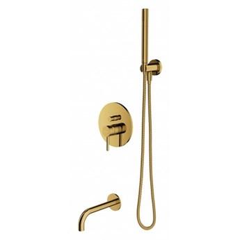 Zestaw wannowo-prysznicowy Y podtynkowy złoty SYSYW01GL