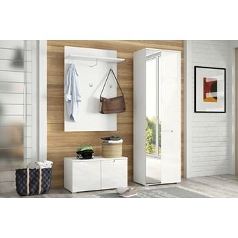 Garderoba SELENE 1 biały połysk