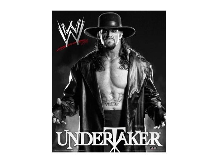 Wwe Undertaker Black And White Plakat Plakaty