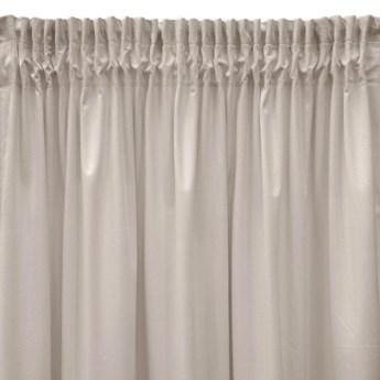 Pierre Cardin zasłona welwetowa 140x270cm - Beżowy - Taśma