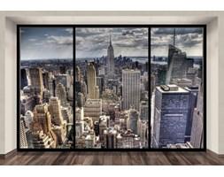 New York, sleepless (window) - fototapeta