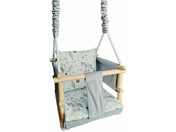 Drewniana huśtawka rosnąca 6 wzorów - Sevila Drewno Bawełna Metal Kategoria Huśtawki dla dzieci
