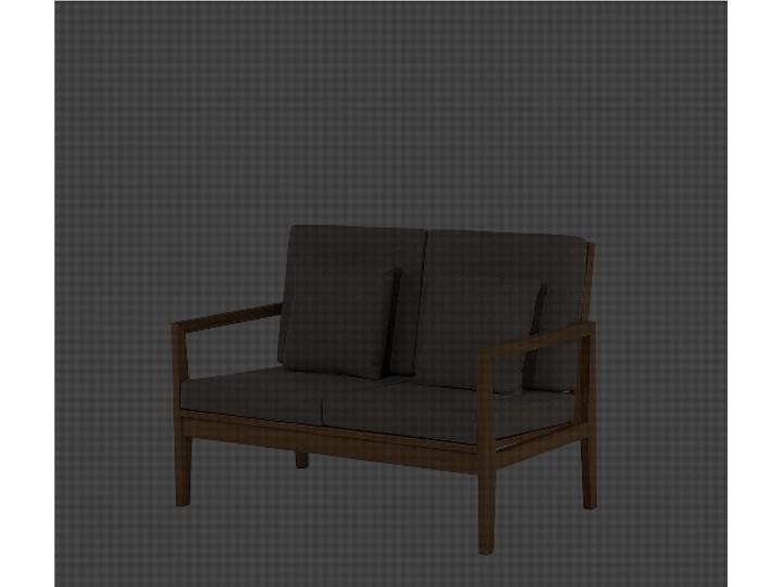 Zestaw ogrodowy szary jasne drewno akacjowe 2 ławki 1 fotel 1 leżak 1 stół poduchy retro Zestawy wypoczynkowe Tworzywo sztuczne Kategoria Zestawy mebli ogrodowych Zestawy kawowe Zawartość zestawu Fotele