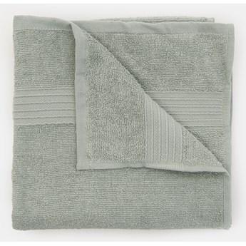 Sinsay - Bawełniany ręcznik 50x100 - Zielony