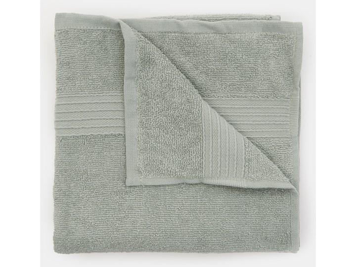 Sinsay - Bawełniany ręcznik 50x100 - Zielony 50x100 cm Bawełna Kategoria Ręczniki Kolor Szary