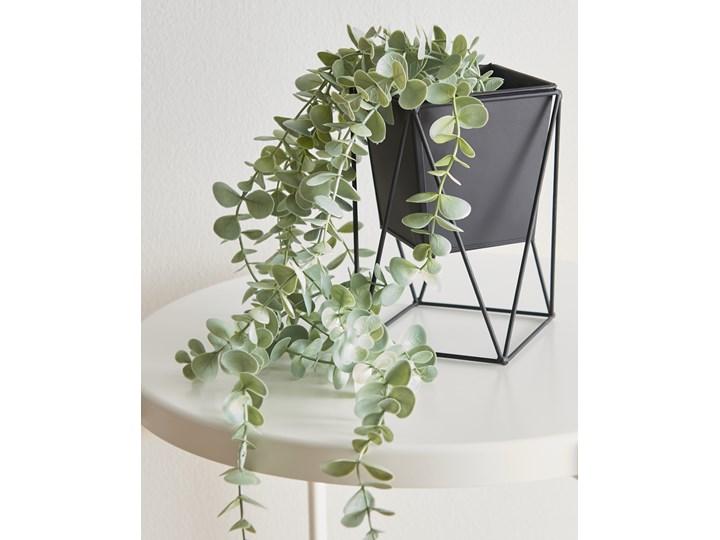 Sinsay - Doniczka na stojaku 11x11x18,5 - Czarny Doniczka na kwiaty Kategoria Doniczki i kwietniki