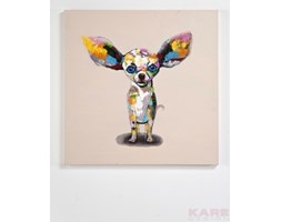Kare Design Chihuahua Standing 80x80cm Obraz - 33052