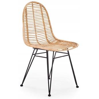 Krzesło K337 Rattan Naturalny Halmar